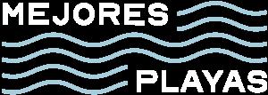 Logo compacto mejores playas oscuro