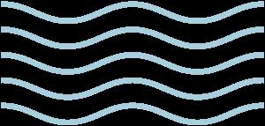 simbolo olas pequeño